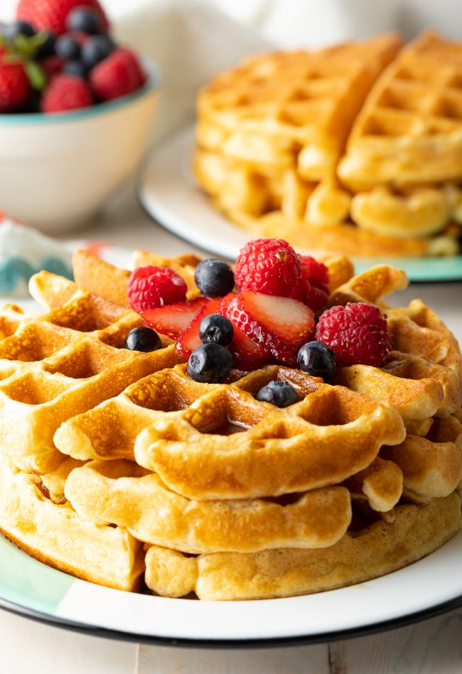 how to make the best waffles from scratch