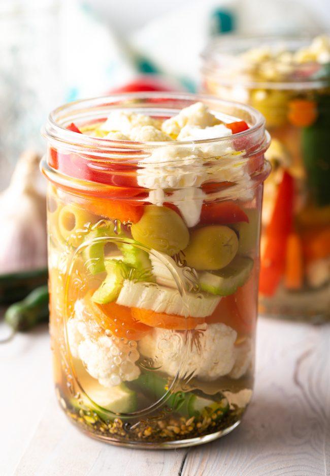 Giardiniera Pickled Veggies