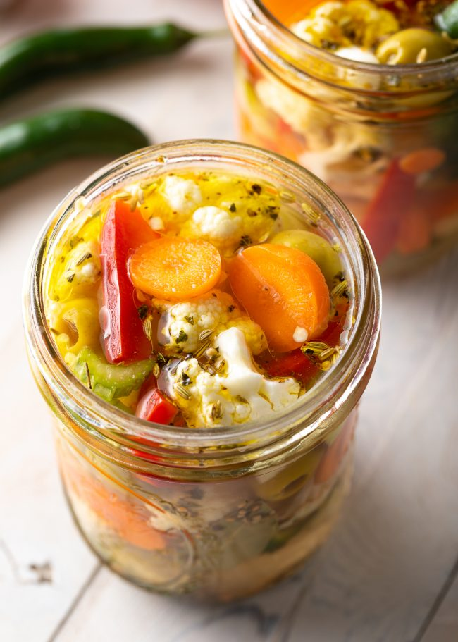 how to make the best pickled veggies