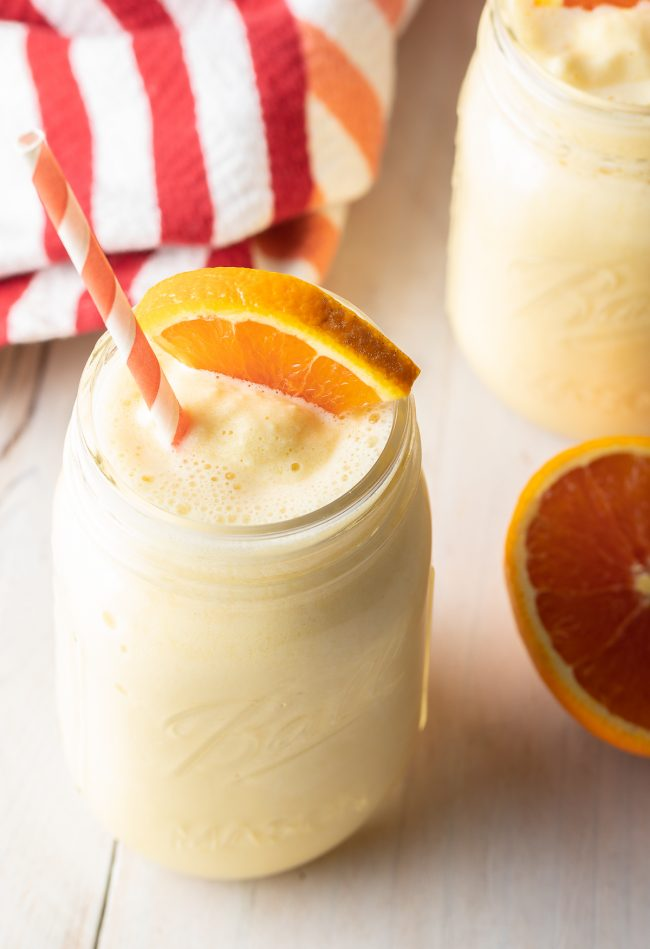 orange creamsicle frozen drink