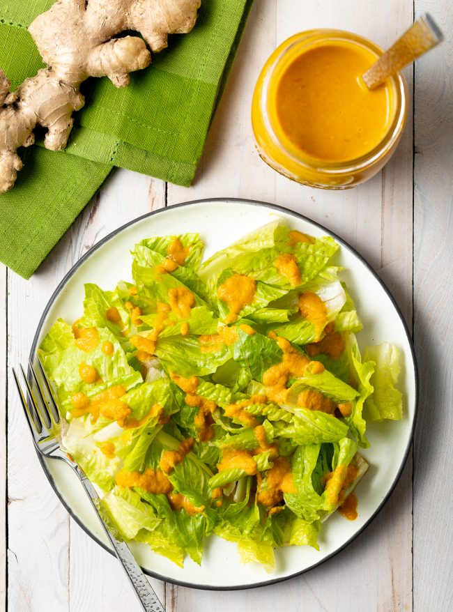 Japanese Ginger Salad Dressing Recipe
