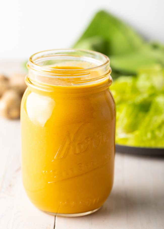 Homemade Japanese Restaurant-Style Salad Dressing