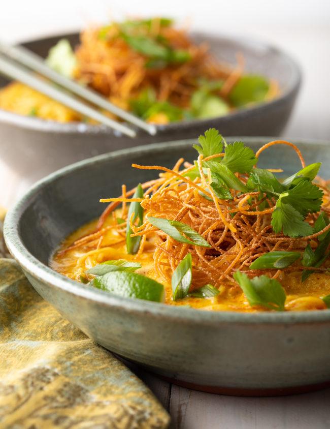Khao Soi Recipe (Thai Coconut Curry Soup)