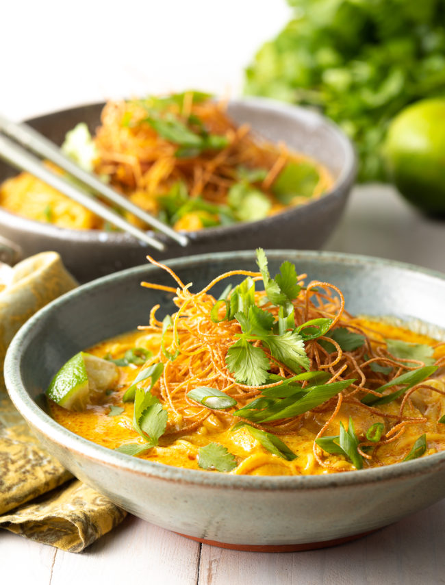 Khao Soi Recipe (Thai Red Curry Soup)