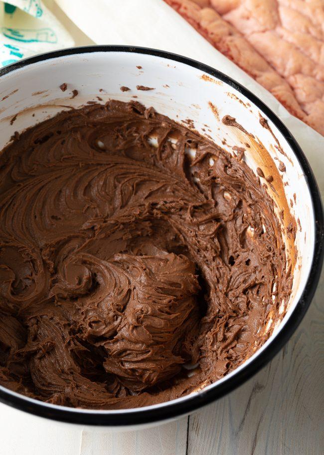 homemade chocolate brownie frosting recipe