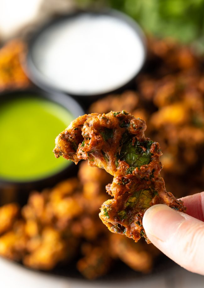 the best crispy homemade veggie pakora