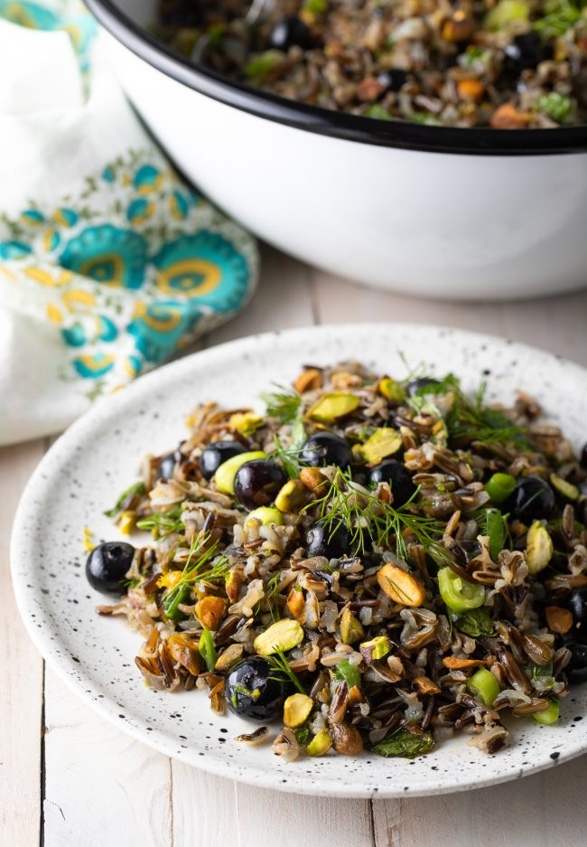 how to make wild rice salad