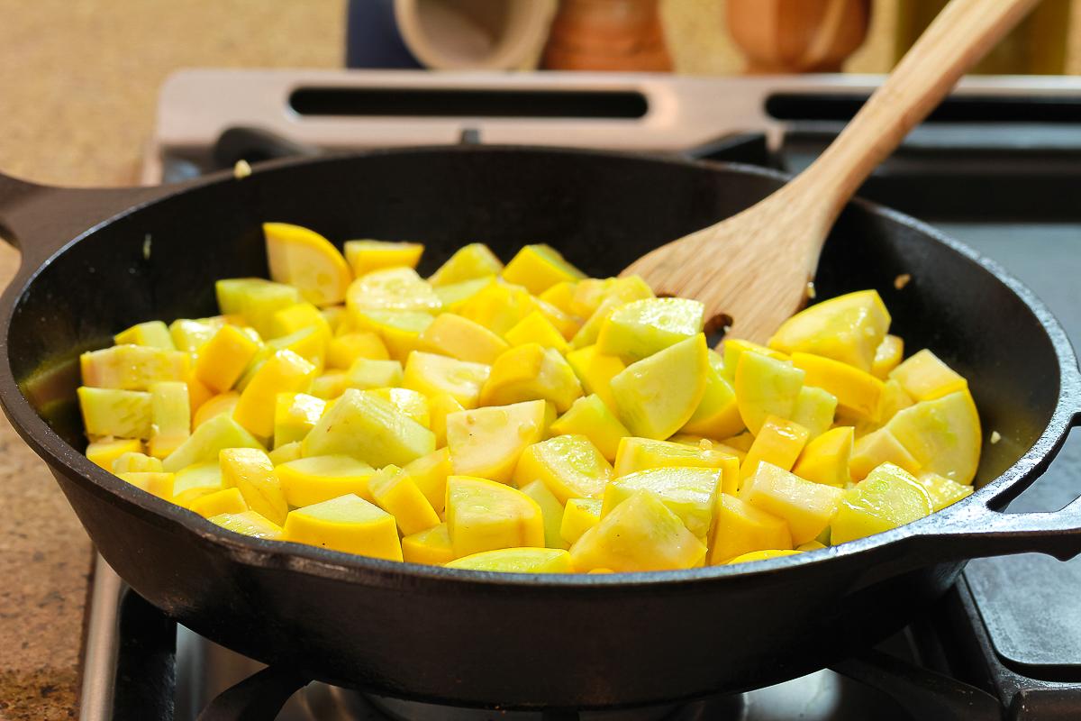 Sautéed yellow squash