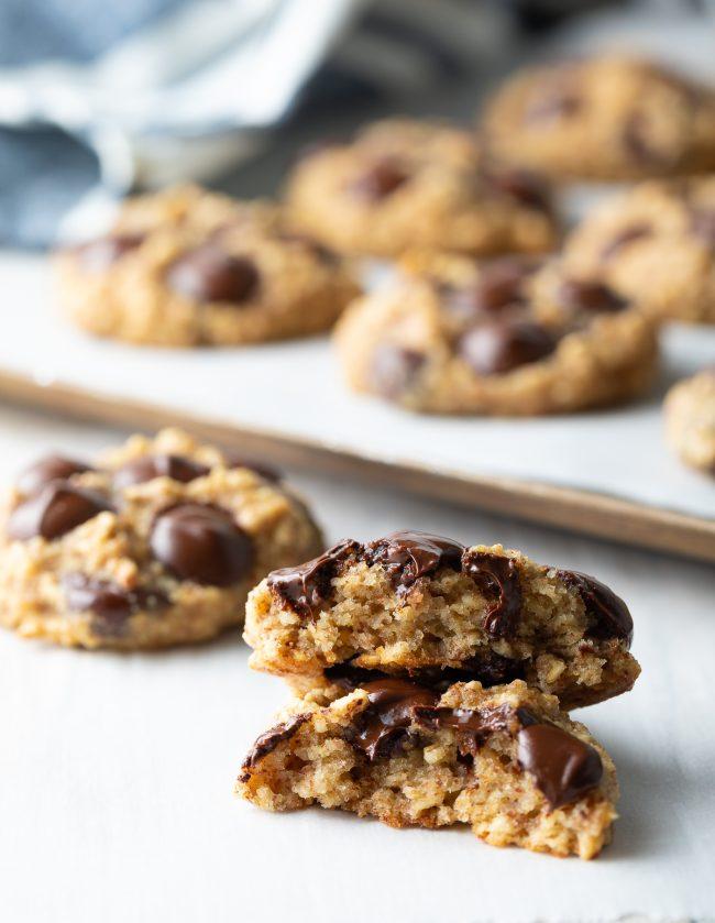 the best banana oat cookies