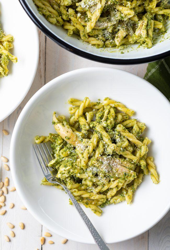 best pesto chicken pasta