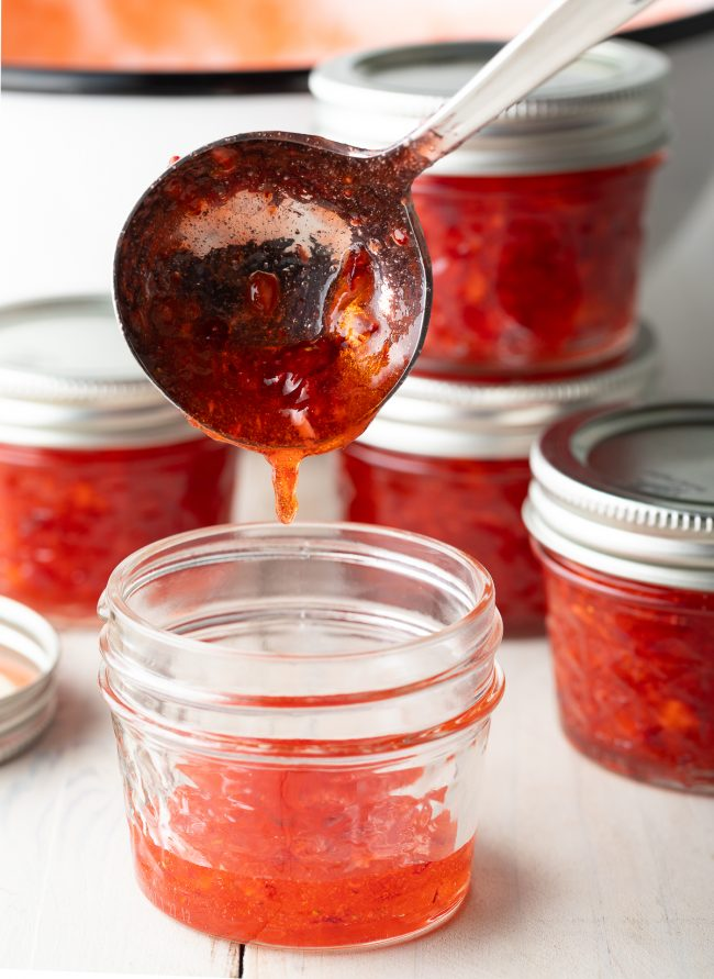 no-cook jam made from scratch