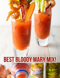 The BEST Homemade Bloody Mary Mix Recipe