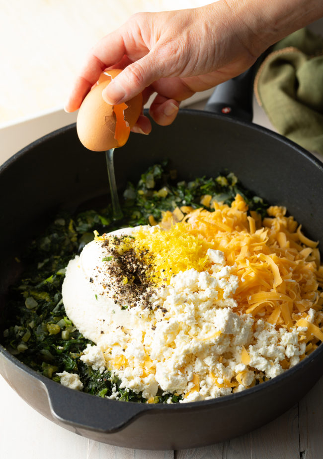 Combine Cheese Mixture