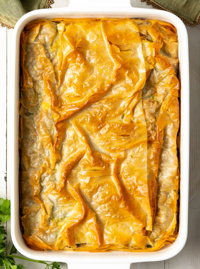 Cheese Spinach Pie Recipe