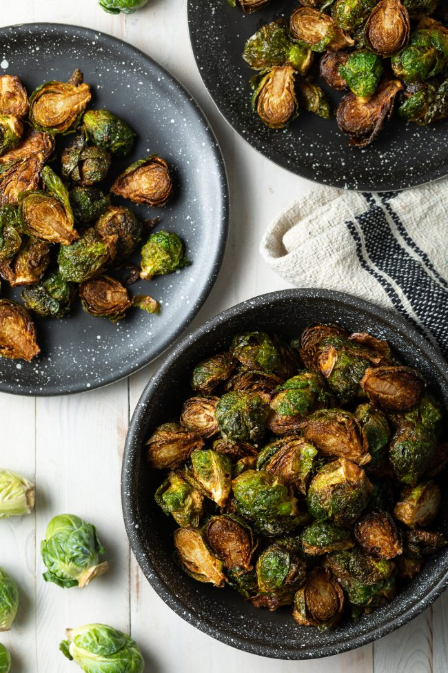 Fried Crispy Brussels Sprouts
