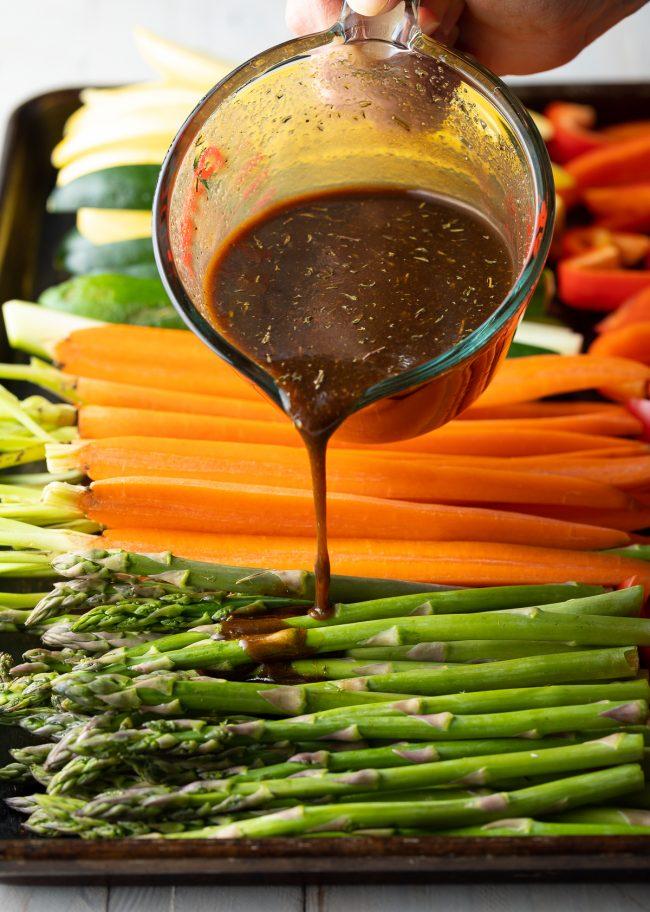 easy vegetable marinade