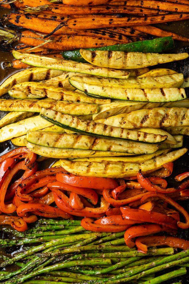 best grilled vegetables