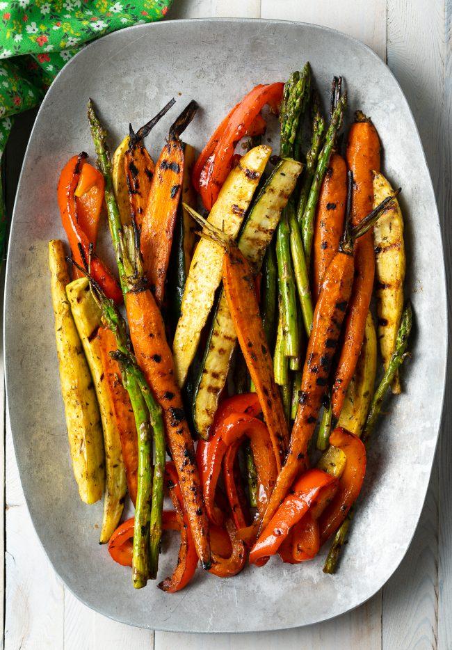 best marinated grilled vegetables