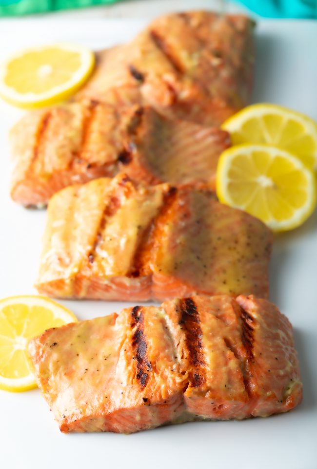 how to grill salmon with best easy marinade