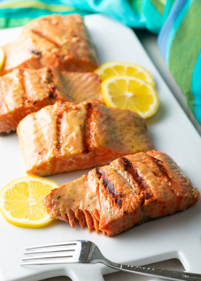 how to make the best grilled salmon with dijon lemon marinade
