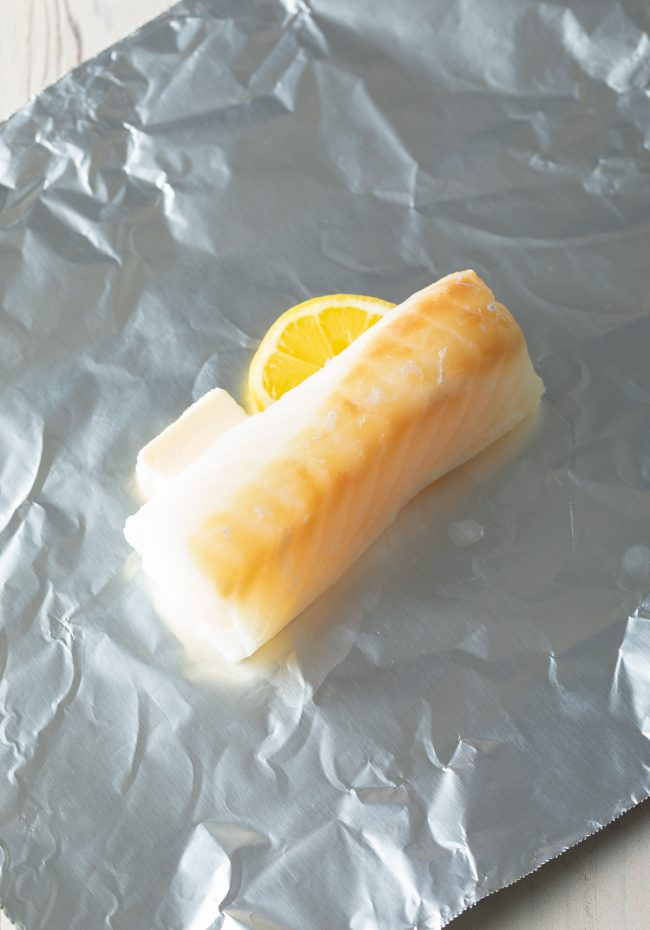 whitefish in foil