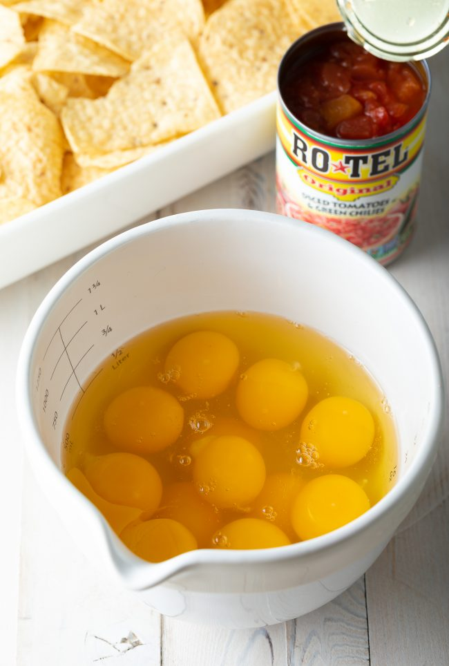 eggs and rotel