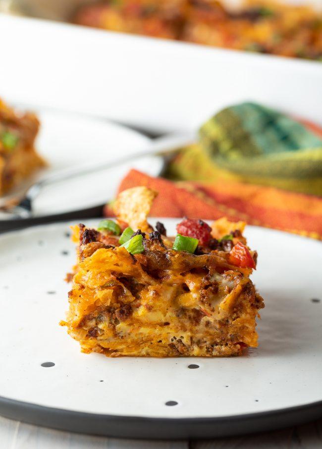 gluten-free mexican breakfast bake