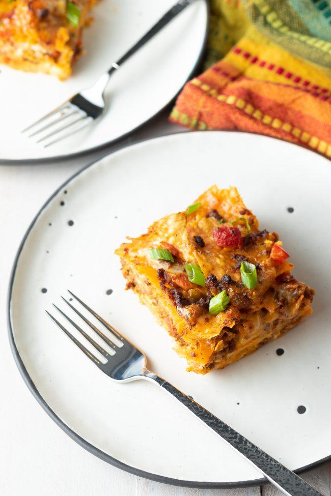 easy make-ahead mexican breakfast casserole