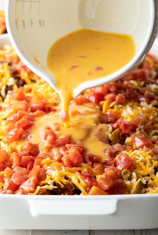 make-ahead mexican casserole