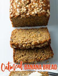 Oat Banana Bread