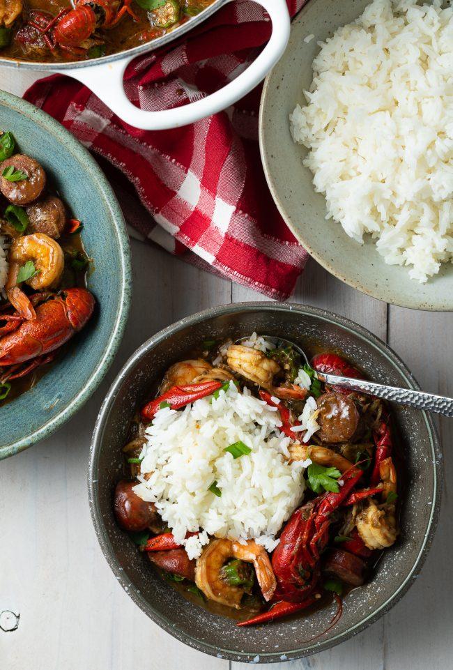 how to make authentic Louisiana gumbo recipe
