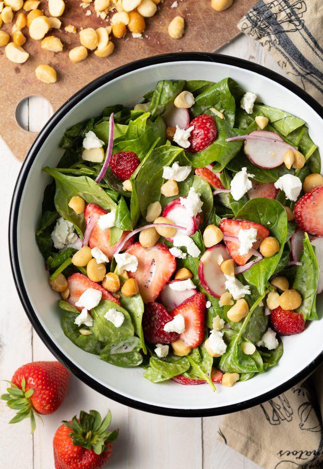 chunky strawberry salad recipe