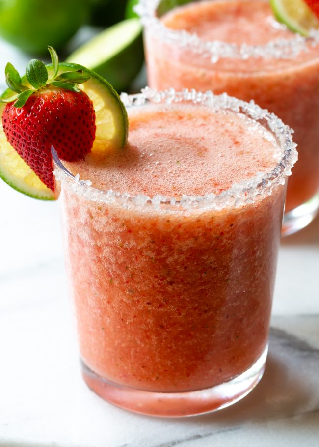 Frozen Strawberry Margarita Recipe