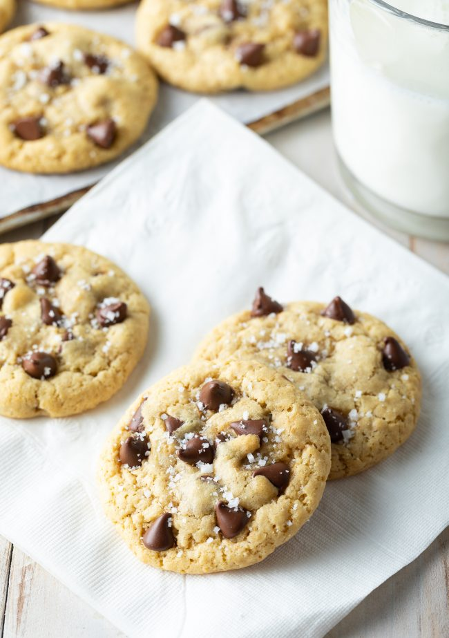 easy no chill chocolate chip cookie recipe