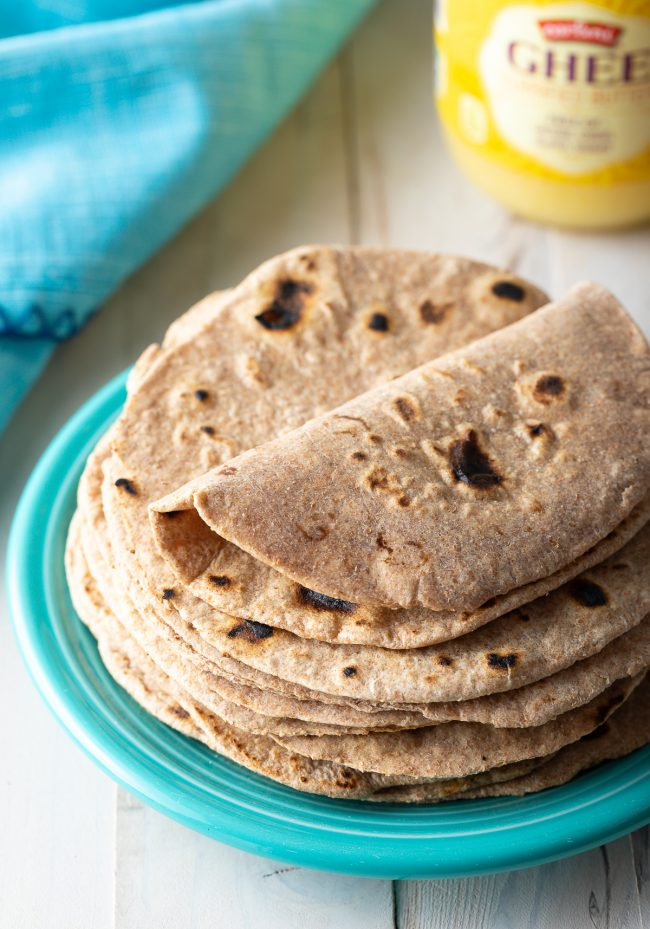 simple roti (chapati) recipe