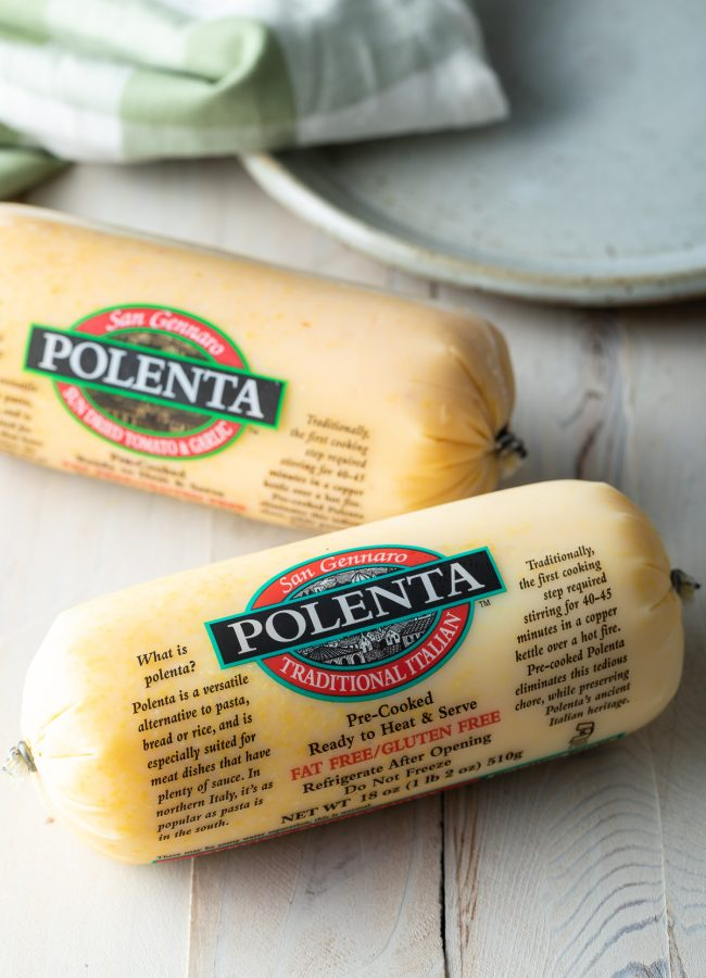 precooked polenta logs