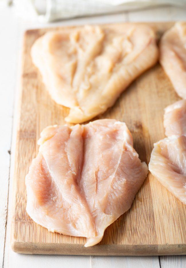 butterflied breasts