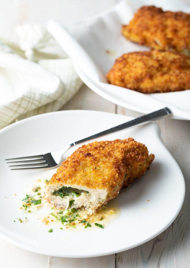saucy, rich stuffed chicken kiev recipe