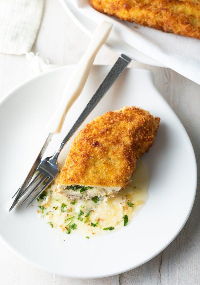 butter stuffed chicken breast recipe