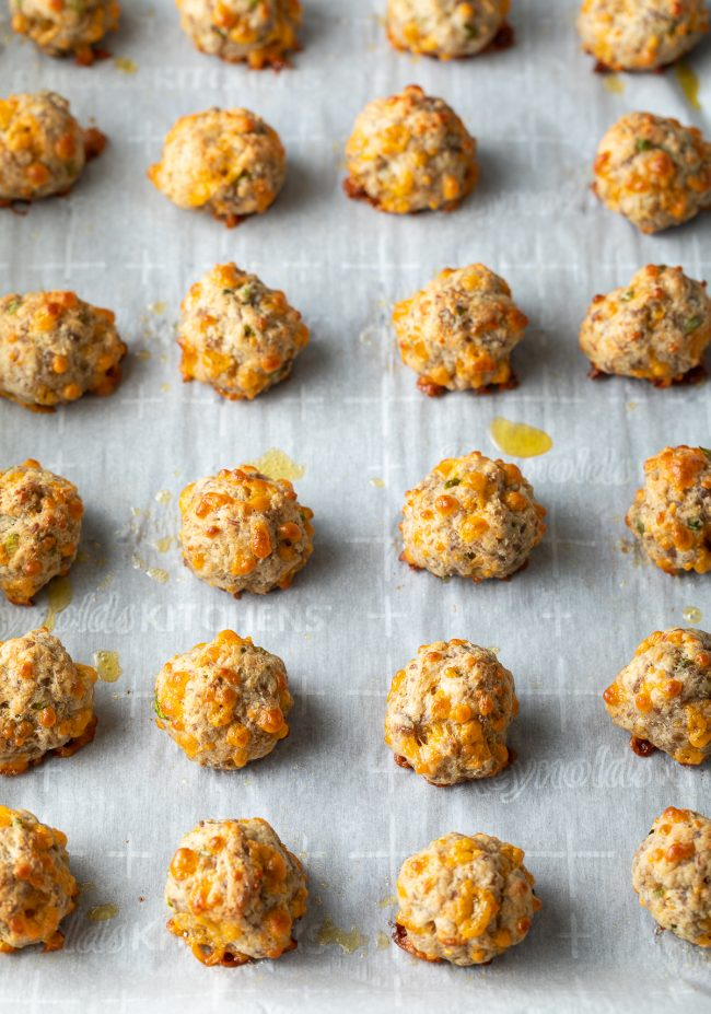 the best easy sausage cheese balls recipe