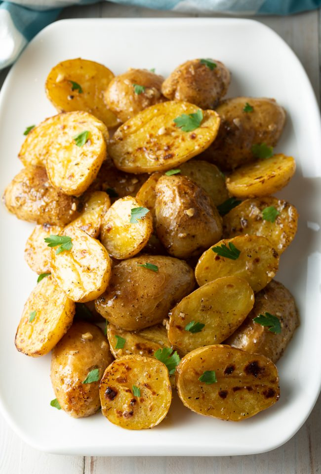 baby potatoes with big flavors