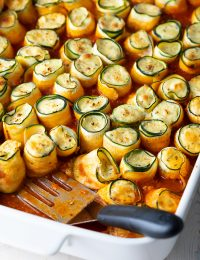 cheese and marinara zucchini roll ups
