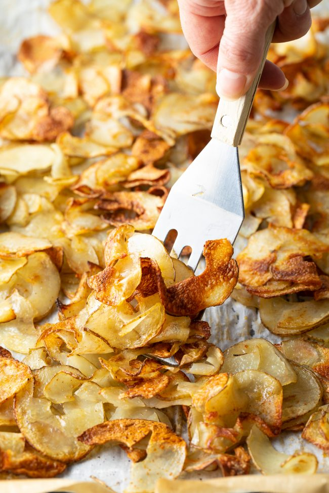 oven roasted crispy potatoes