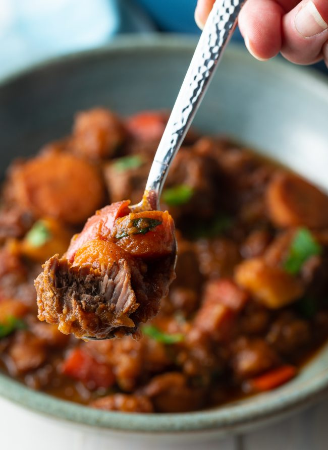 authentic beef goulash gulyas