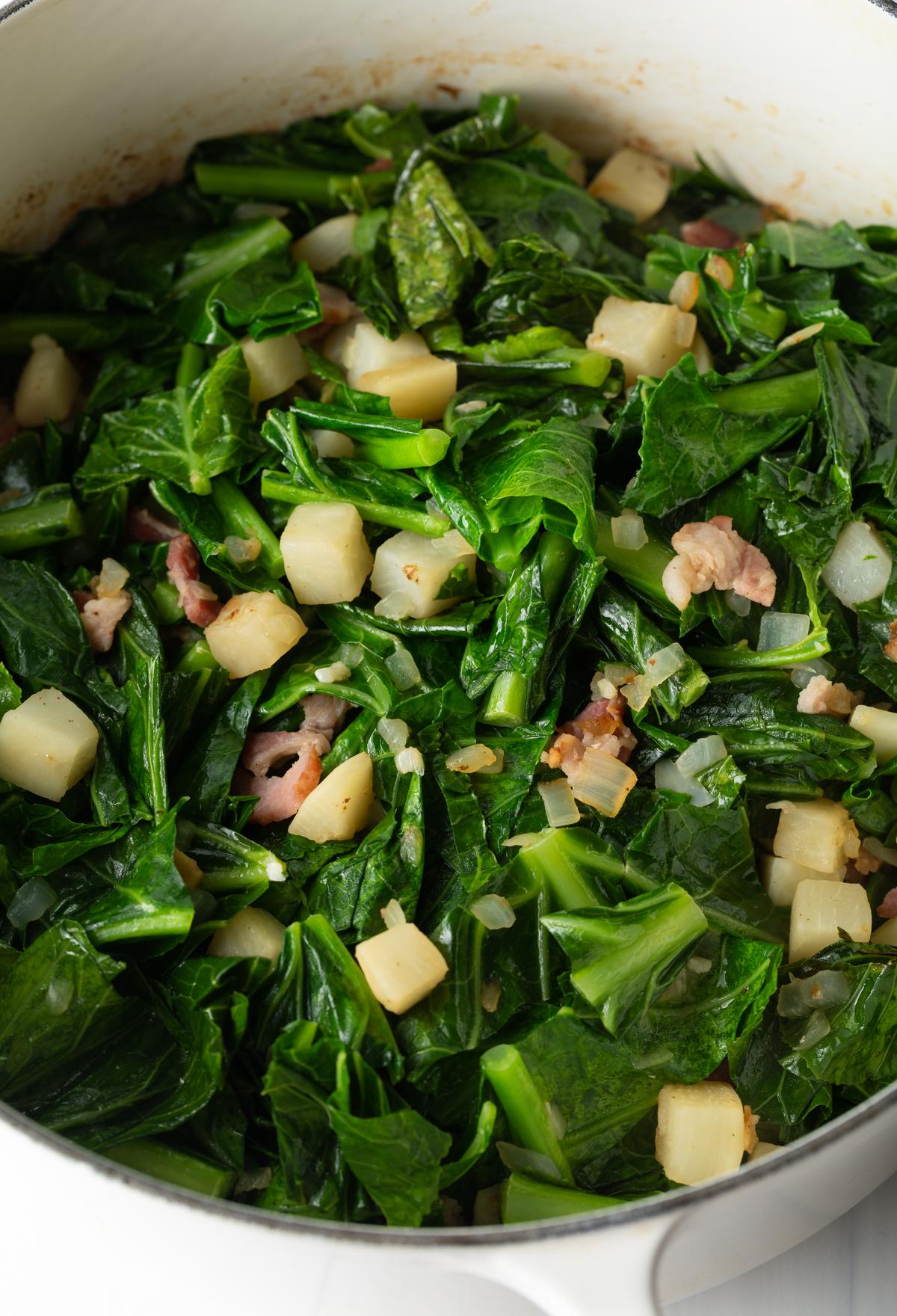 cooking collard greens