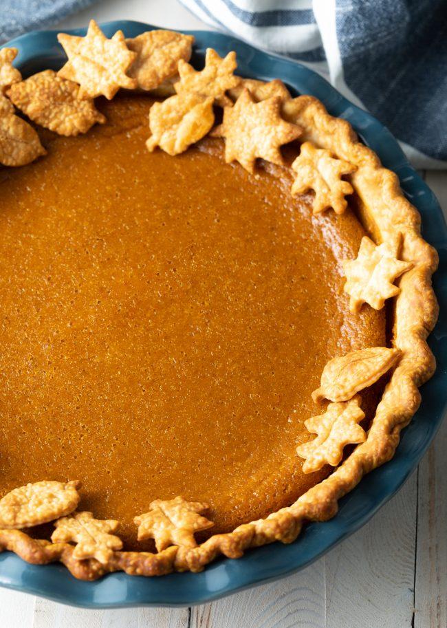 gluten free with pumpkin pie spice