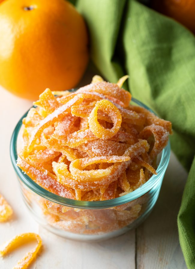 orange peel recipe