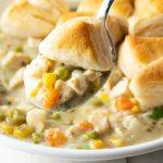 slow cooker chicken pot pie
