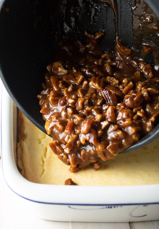 pecan caramel topping