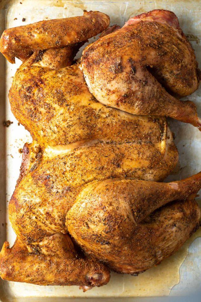 smoked whole turkey recipe